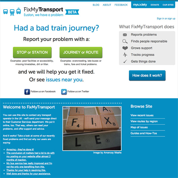 Fixmytransport